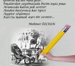 Mehmet Özçelik'ten…